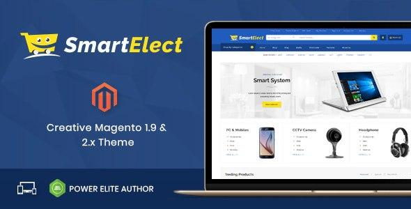 [Download] SmartElect v1.0 - Responsive Magento 1 & 2 Theme