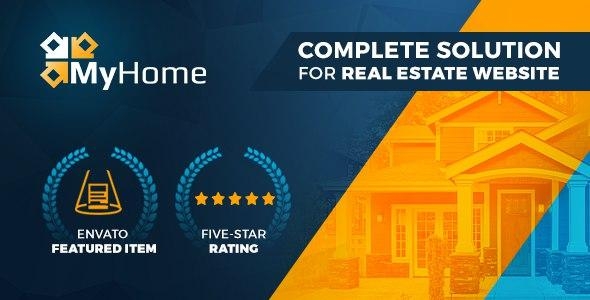 [Download] MyHome - Real Estate WordPress Theme