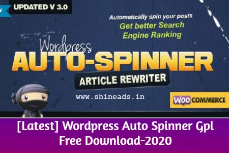 How to install Wordpress Auto Spinner GPL File