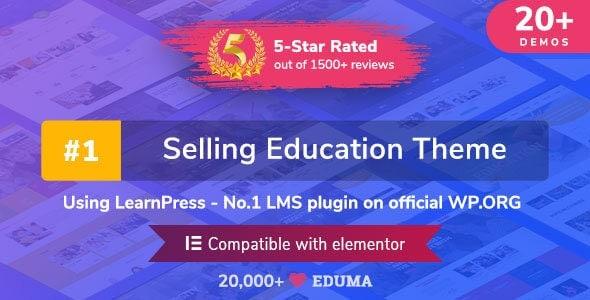 Eduma v4.2.4 - Education WordPress Theme