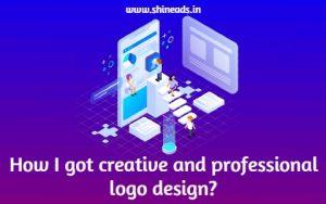 How I got creative and professional logo design