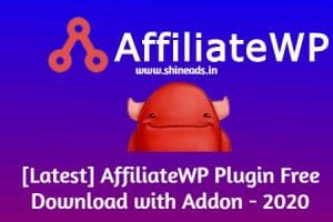 [Latest] AffiliateWP Plugin Free Download with Addon - 2020