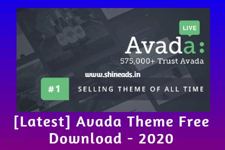 [Latest] Avada Theme Free Download - 2020
