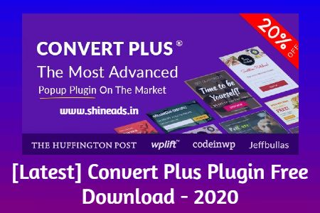 [Latest] Convert Plus Plugin Free Download - 2020