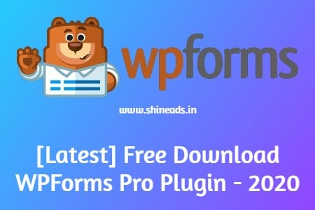 [Latest] Free Download WPForms Pro Plugin - 2020