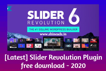 [Latest] Slider Revolution Plugin free download - 2020