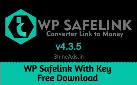 WP Safelink With Key Free Download