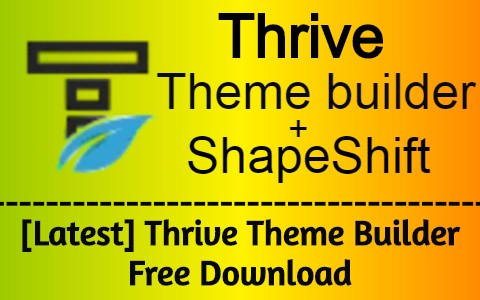 Latest-Thrive-Theme-Builder-Free-Download