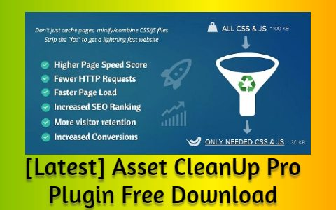 [Latest] Asset CleanUp Pro Plugin Free Download