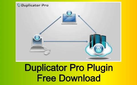 Duplicator Pro Plugin Free Download