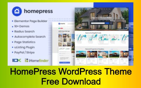 HomePress WordPress Theme Free Download