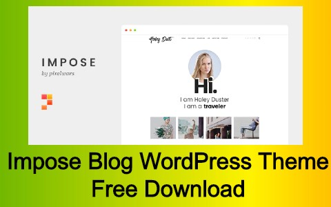Impose Blog WordPress Theme Free Download