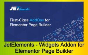 JetElements - Widgets Addon for Elementor Page Builder Free Download