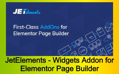 JetElements - Widgets Addon for Elementor Page Builder Free Download