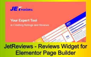 JetReviews - Reviews Widget for Elementor Page Builder Free Download