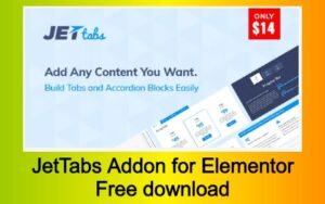 JetTabs Addon for Elementor Free download