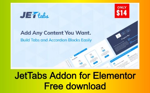 JetTabs Addon for Elementor Free download