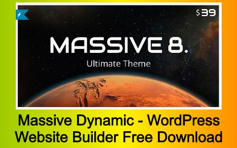 Massive Dynamic - WordPress Website Builder Free Download
