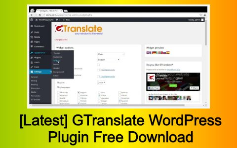 [Latest] GTranslate WordPress Plugin Free Download