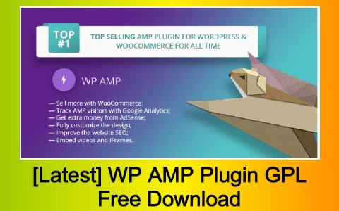 [Latest] WP AMP Plugin GPL Free Download
