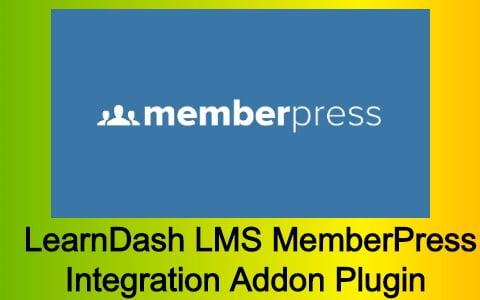 LearnDash LMS MemberPress Integration Addon Plugin Free Download