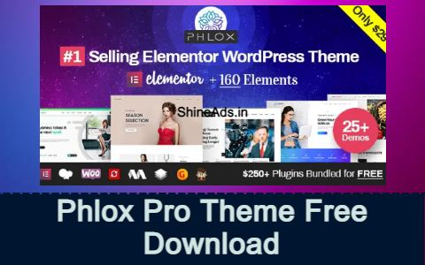 Phlox Pro Theme Free Download
