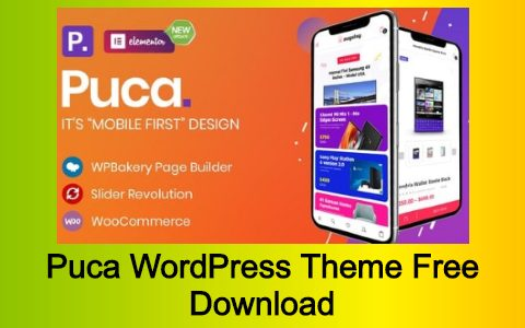 Puca WordPress Theme Free Download