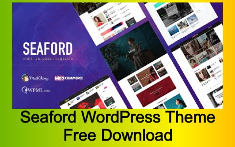 Seaford Multi-Purpose Magazine WordPress Theme Free Download