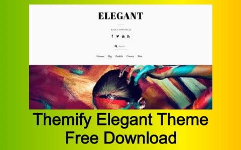 Themify Elegant Theme Free Download