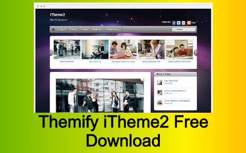 Themify iTheme2 Free Download