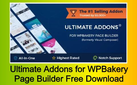 Ultimate Addons for WPBakery Page Builder Free Download