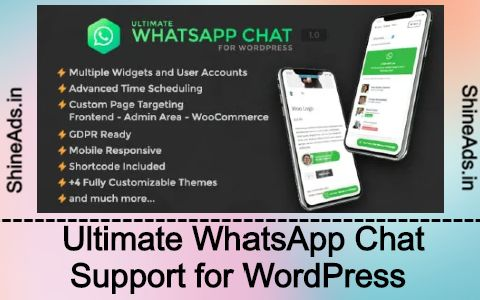 Ultimate WhatsApp Chat Support for WordPress Free Download