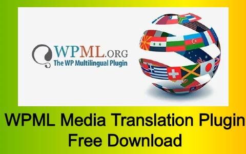 WPML Media Translation Plugin Free Download