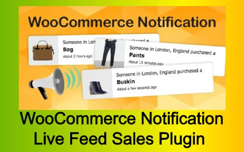 WooCommerce Notification | Live Feed Sales Plugin Free Download
