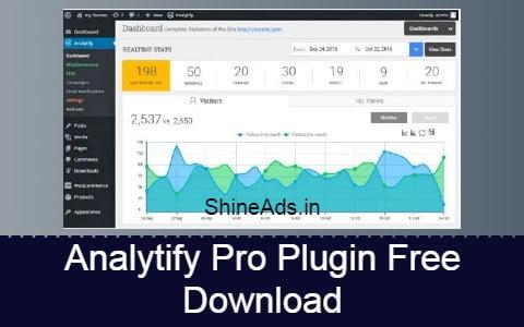 Analytify Pro Plugin Free Download