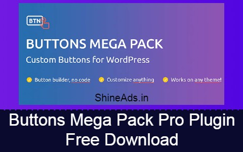 Buttons Mega Pack Pro Plugin Free Download