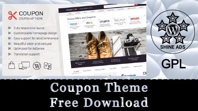 Coupon Theme Free Download