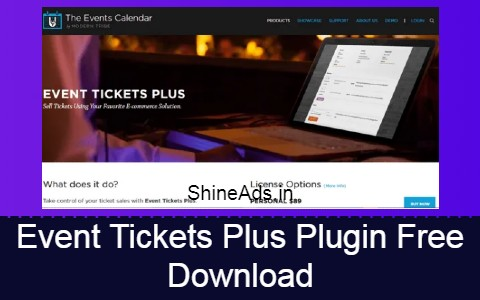Event Tickets Plus Plugin Free Download
