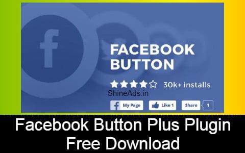 Facebook Button Plus Plugin Free Download