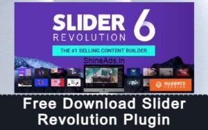 Free Download Slider Revolution Plugin