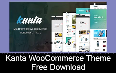 Kanta WooCommerce Theme Free Download