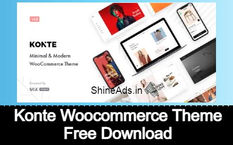 Konte Woocommerce Theme Free Download