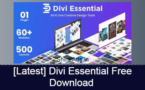 [Latest] Divi Essential Free Download