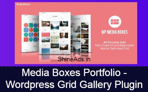 Media Boxes Portfolio - WordPress Grid Gallery Plugin Free Download