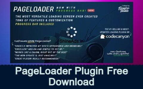 PageLoader: WordPress Loading Screen and Progress Bar Free Download