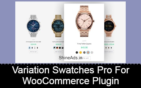 Variation Swatches Pro For WooCommerce Plugin