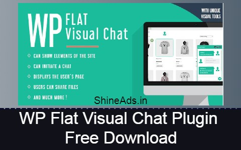 WP Flat Visual Chat Plugin Free Download