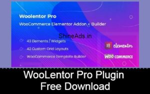 WooLentor Pro Plugin Free Download