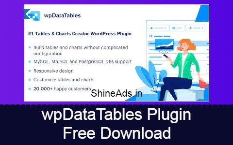 wpDataTables Plugin Free Download