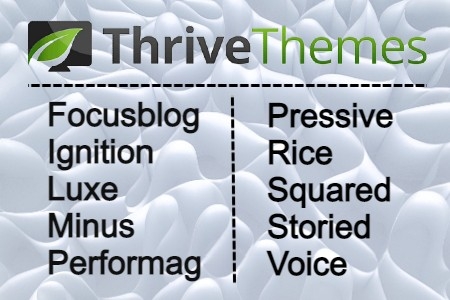 Free Download All Thrive Themes